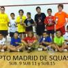 Cuadros Cpto. Madrid Squash sub.9 sub.11 y sub.15