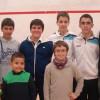 Squash. Cpto Madrid sub13 y sub17