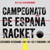 Racket.Cpto. España de Veteranos 2014