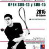 Open Nacional Junior en el Club Rackets Madrid